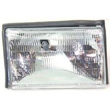 For Mustang 87-93, Passenger Side Headlight, Clear Lens