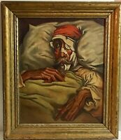 Antique Don Quixote Oil Painting Gustave Doré 1868 N. DeAngeles BEAUTIFUL WORK