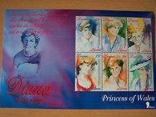 LIBERIA.DIANA PAINTINGS,M/SHEET OF 6 VALS.U/MINT.EXCELLENT.