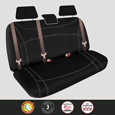 Ssangyong Musso Q200 Dual Cab 2018-On Custom Neoprene REAR Seat Covers