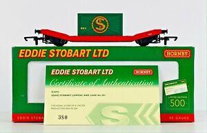 HORNBY 00 GAUGE - R6293 - EDDIE STOBART LTD 'LOWMAC & LOAD' NO.201 - MINT BOXED