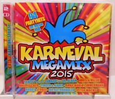 Karneval Megamix 2015 + 94 Partyhits im Mega Mix auf 2 CD mit Stimmungsgarantie