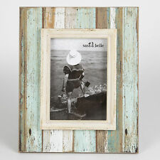 Sass & Belle Coastal Chic Driftwood Standing Photo Frame Portrait Picture 7 X 5