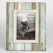 "Coastal Chic Shabby Driftwood Standing Photo Rectangle Frame 7'x 5"" photos"