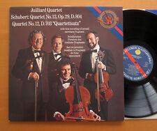 CBS 74107 Juilliard Quartet Schubert no. 12 & 13 NEAR MINT Holland Stereo LP