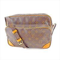Louis Vuitton Shoulder bag Monogram Brown Beige Woman Authentic Used T5514