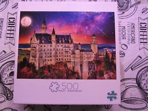 Once Upon a Time Jigsaw Puzzle - 500 Pieces - Castle at Night - Buffalo Games