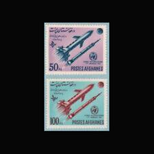 Afghanistan, Sc #632-33, MNH, 1962, Rockets, Meteorological, 10AAD