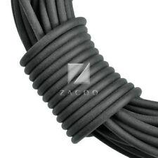 Schwarze Fäden & Bänder zur Schmuckherstellung Drähte, 2 mm