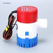 12V 1100Gph Boat Submersible Plumbing Electric Bilge Pumps,Small Size,Free Ship
