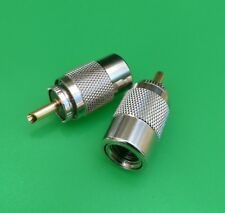 (1 PC) UHF Male Twist-On Connector RG8U/RG8/RG213/RG214/LMR400 - USA Seller