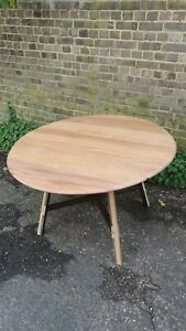 Ercol Drop Leaf Dining Table.