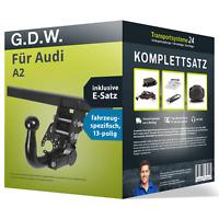 Anhängerkupplung abn. für AUDI A2 +Elektrosatz Set kpl. NEU inkl. EBA