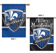 """Impact Montreal Double Sided MLS House Flag Licensed Soccer 28"""" X 40"""""""
