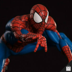 Spider-Man Statue Iron Studios Figure 1:10 Marvel Comics Peter Parker Mega Rare