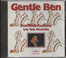 Ben Webster, Saxo trio Tete Montoliu - Gentle Ben (CD Album)