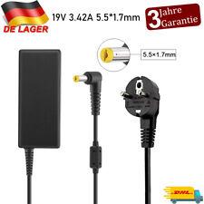 Notebook Netzteil Ladegerät für Acer Aspire E1-522 19V 3.42A Laptop Ladekabel DE