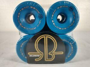 RollerBones Team 62mm x 30mm 101A Competition Roller Skate Wheels (Set of 8)