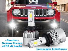 LAMPADE FENDINEBBIA A LED CREE JEEP RENEGADE 2014+ CAMBUS BIANCO GHIACCIO