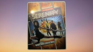Serenity Limited Edition Blu-ray Steelbook * 2 Disc Combo * Very Good
