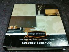 1 Wallpaper Sample Book Design By Color 11.5x10.75 inch 112 pages Crafts
