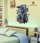 Transformers Kids Room Mural Vinyl Removable Wall Sticker Decal