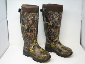 Hisea Camo Basic Hunting Boots Kanati Camo Rubber AVA Neoprene Men Size 7