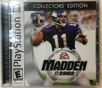 Madden NFL 2002 (Sony PlayStation 1, 2001)
