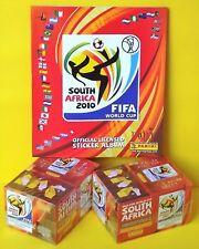 Panini WM 2010 Südafrika - 2 x Display + Leeralbum