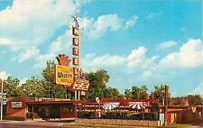 c1950s The Columbian Motel, Provo, Utah Postcard