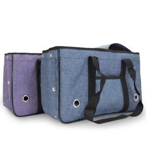Folding Pet Dog Cat Portable Travel Carrier Tote Cage Bag Holder Crate Handbag