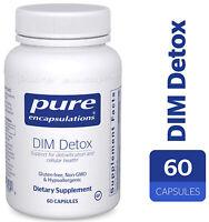 Pure Encapsulations - DIM Detox 60 Capsules - Detoxification & Hormone Balance