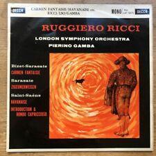 LXT 5571 Bizet-Sarasate Carmen Fantaisie etc / Ruggiero Ricci O/S