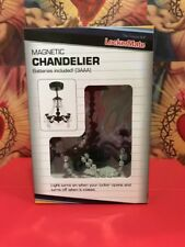 Magnetic Locker Lounge Chandelier BLACK/CLEAR Motion Sensor Light Teen Room