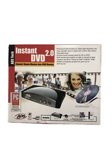 DVD Converter ADS Technologies LL5-USBAV-700 USB Instant New In Packaging