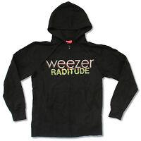 Weezer Raditude Black Zip Up Hoodie Sweatshirt New Official