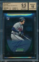 2011 Bowman Chrome Freddie Freeman RC Auto BGS 9.5 Gem Mint Autograph Braves