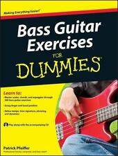 Bass Guitar Exercises For Dummies (For Dummies (Sports & Hobbies))-ExLibrary