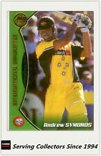 2001-02 Topps Gold Cricket Cards Record Breakers Card R5 Australia VS India