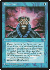 MTG X1: Brainstorm, Ice Age, C, Moderate Play - FREE US SHIPPING!