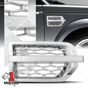 "For 2005-2009 Land Rover LR3{AUTOBIOGRAPHY STYLE}Chrome""DISCOVERY""Fender Grille"