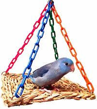1726 Platform Central Bird Toy parrot cage swing toys cages cockatiel conure