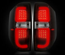 RECON Smoked Red LED Tail Lights for 2014-2016 Toyota Tundra 264288RBK