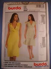 Burda 8836  sewing pattern Dress sizes european 34 - 44