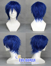 VOCALOID KAITO COSPLAY WIG COSTUME VER2 blue colour 012B