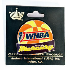 WNBA Phoenix Mercury Basketball Lapel Pin