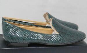 Naturalizer Women's EMILINE Kingfisher Snake Slip on Flats SIZE 9 WIDE