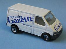 Matchbox Ford Transit Van Evening Gazette News Paper Delivery Van
