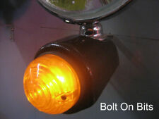 Front Carbon Amber Indicator Light Pods Caterham Westfield DAX Locost Seven