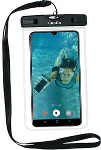 Wasserdicht Unterwasser Handy Tasche Universal Schutzhülle Case Hülle Mit Band